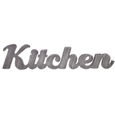 Kitchen Metal Wall Decor