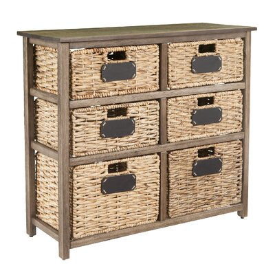 Lavender 6 Drawer Storage