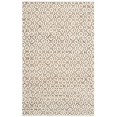 Zap Hand-Woven Natural Area Rug Rug Size: Rectangle 4 x 6