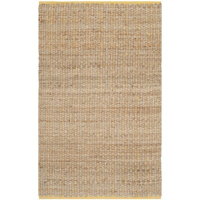 Zap Hand-Woven Beige Area Rug Rug Size: Rectangle 3 x 5