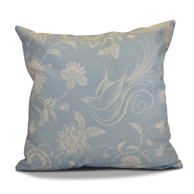Decorative Holiday Throw Pillow Size: 16 H x 16 W, Color: Light Blue
