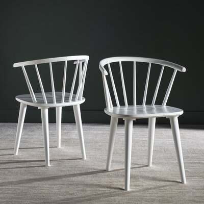 Alberta Side Chair Color: White