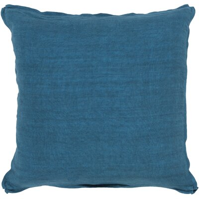 Meghan Throw Pillow Filler: Polyester, Color: Teal