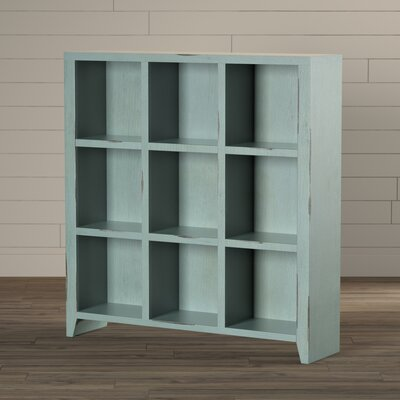 Bess 51 Cube Unit Bookcase Finish: Blue