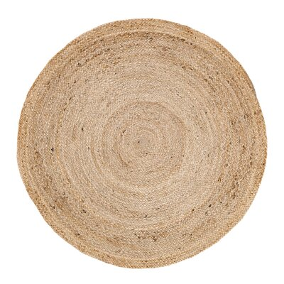 Frederick Brown Area Rug Rug Size: Round 3'