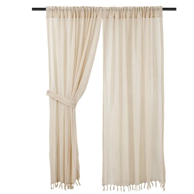 Jonathan Curtain Panels Size: 36 W x 63 L