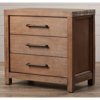Lyons 3 Drawer Nightstand