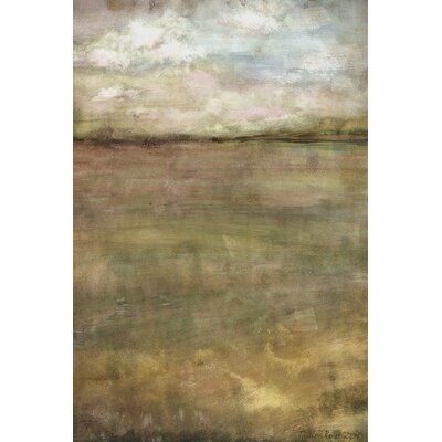 Day Dreams of Night by Nicole Renee Painting Print on Wrapped Canvas