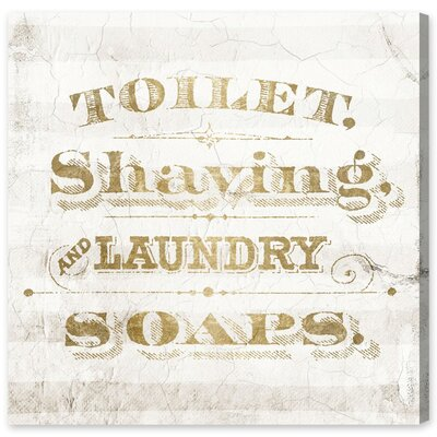 Laundry Soaps Canvas Print, Oliver Gal August Grove