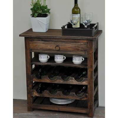 Torrington Shabby Elegance 8 Bottle Floor Wine Rack
