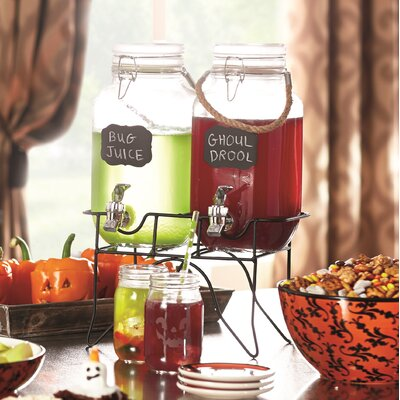 Ardin 3 Piece 1 Gal Beverage Dispenser Set ATGR4137 28844169