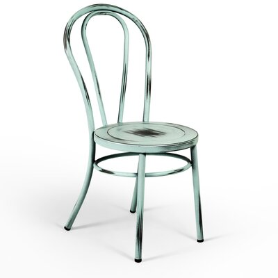 Leslie Side Chair Finish: Blue
