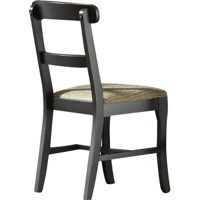 Della Mid-Back Bankers Chair Upholstery: Black