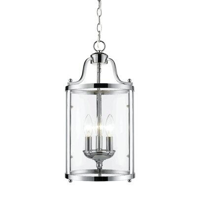 Tessie 3-Light Foyer Pendant Finish: Chrome