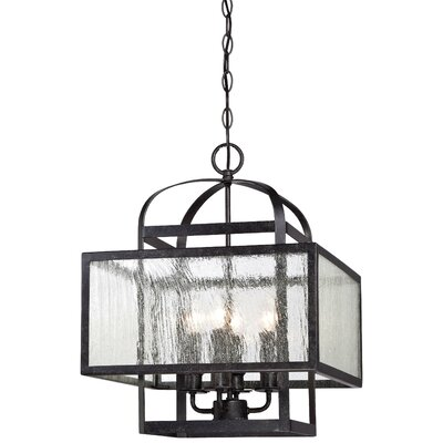 Pine Haven 4-Light Foyer Pendant