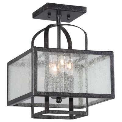 Pine Haven 4-Light Semi Flush Mount