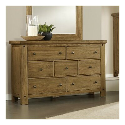 Plentywood 7 Drawer Dresser Color: Casual Oak