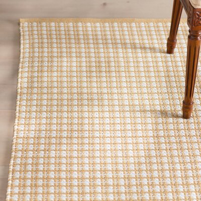 Mollie Hand-Woven Brown Indoor/Outdoor Area Rug Rug Size: Rectangle 2 x 3