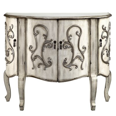 Forest River Coffer Demilune 4 Door Accent Cabinet
