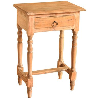 Nonie Cottage End Table Color: Natural Stain