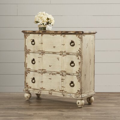 Casper 3 Drawer Accent Chest