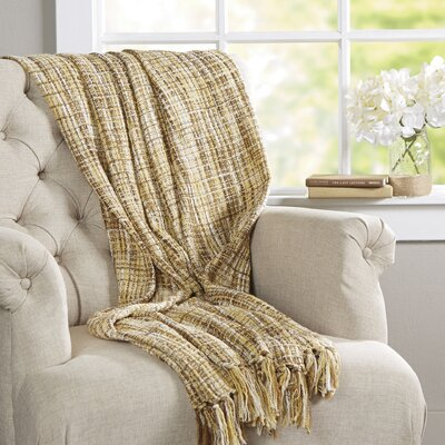 Fairbury Novelty Throw Blanket Color: Sky, Beige, Khaki, Mushroom, Gray