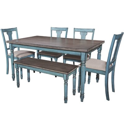 Scarlet 6 Piece Dining Set
