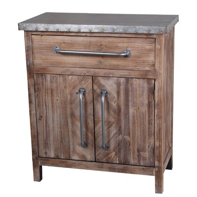 Alpine 1 Draw and 2 Door End Table
