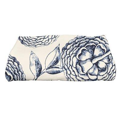 Swan Valley Bath Towel Color: Navy Blue