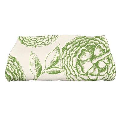 Swan Valley Bath Towel Color: Green