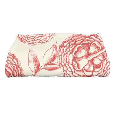 Swan Valley Bath Towel Color: Coral
