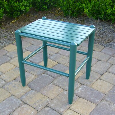 Bob Timberlake Cottage Side Table Finish: Meadowbrook Green