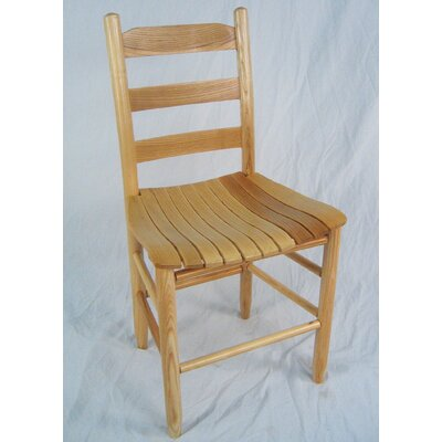 Janelle Wrightsville Adult Ladder Back Side Chair Color: Natural