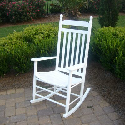 Janelle Asheville Rocking Chairs Finish: White
