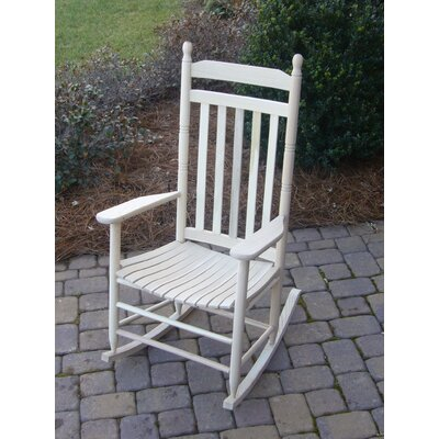 Janelle Asheville Rocking Chairs Finish: Unfinished