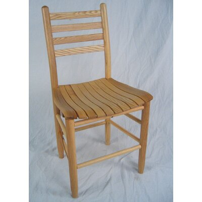 Adult Slat Seat Side Chair Finish: Natural