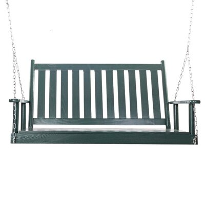 Bob Timberlake Porch Swing Finish: Meadowbrook Green