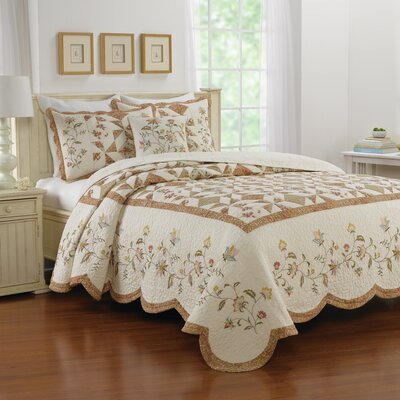 Pineview Bedspread Size: King