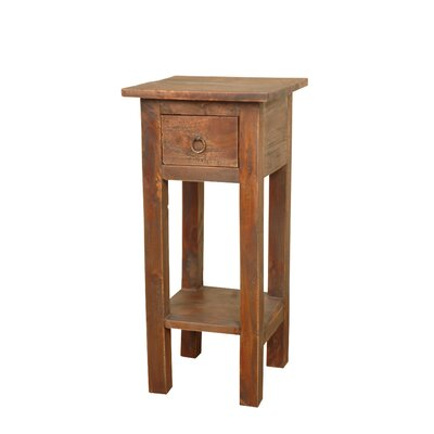 Abigail End Table Color: Light Brown