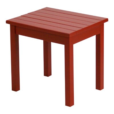 Franklin Springs End Table Finish: Chili