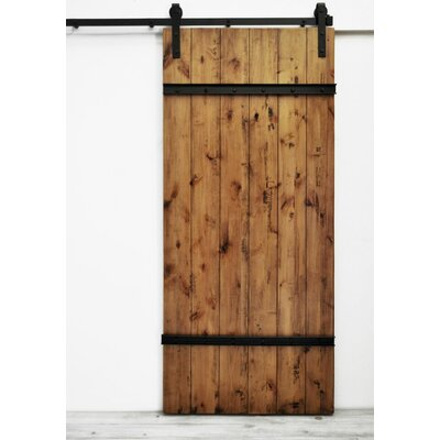 Celeste Wood 1 Panel Interior Barn Door