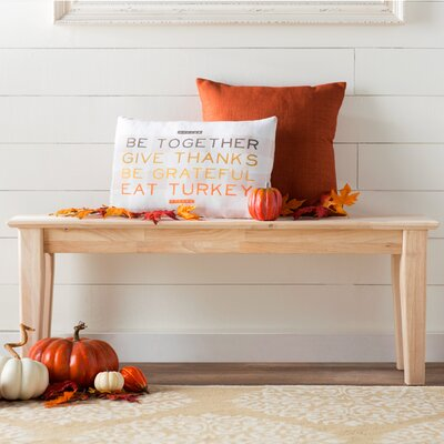 Imogene Wooden Entryway Bench