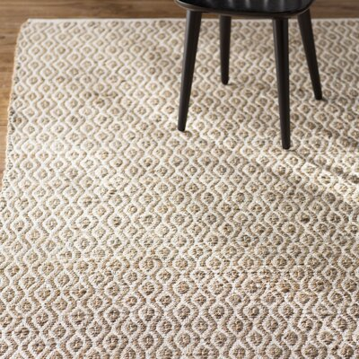 Zap Hand-Woven Natural Area Rug Rug Size: Rectangle 6 x 9