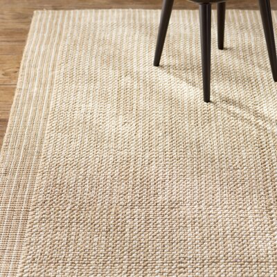 Heyburn Ivory/Beige Area Rug Rug Size: Rectangle 9 x 12