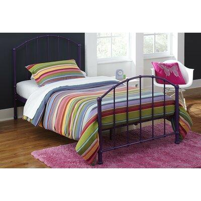 Eleanore Twin Platform Bed Color: Purple