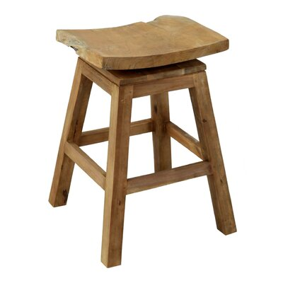 Elliot 24 Bar Stool Frame Finish: Natural