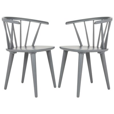 Alberta Side Chair Color: Grey
