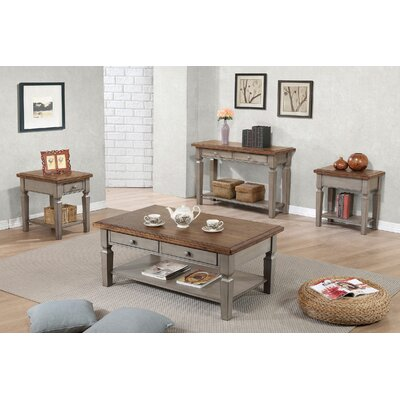 4 Piece Coffee Table Set