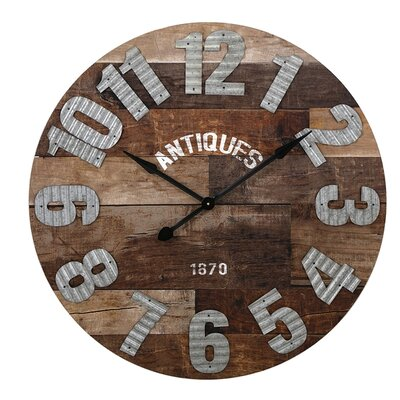 35.25 Antiques Oversized Wall Clock