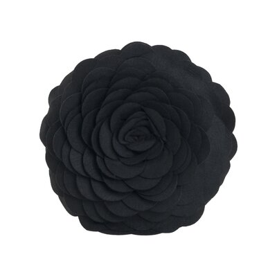 Montrose Throw Pillow Color: Black